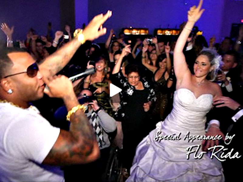 Flo Rida makes an appearance at Patty and Nelsons wedding!