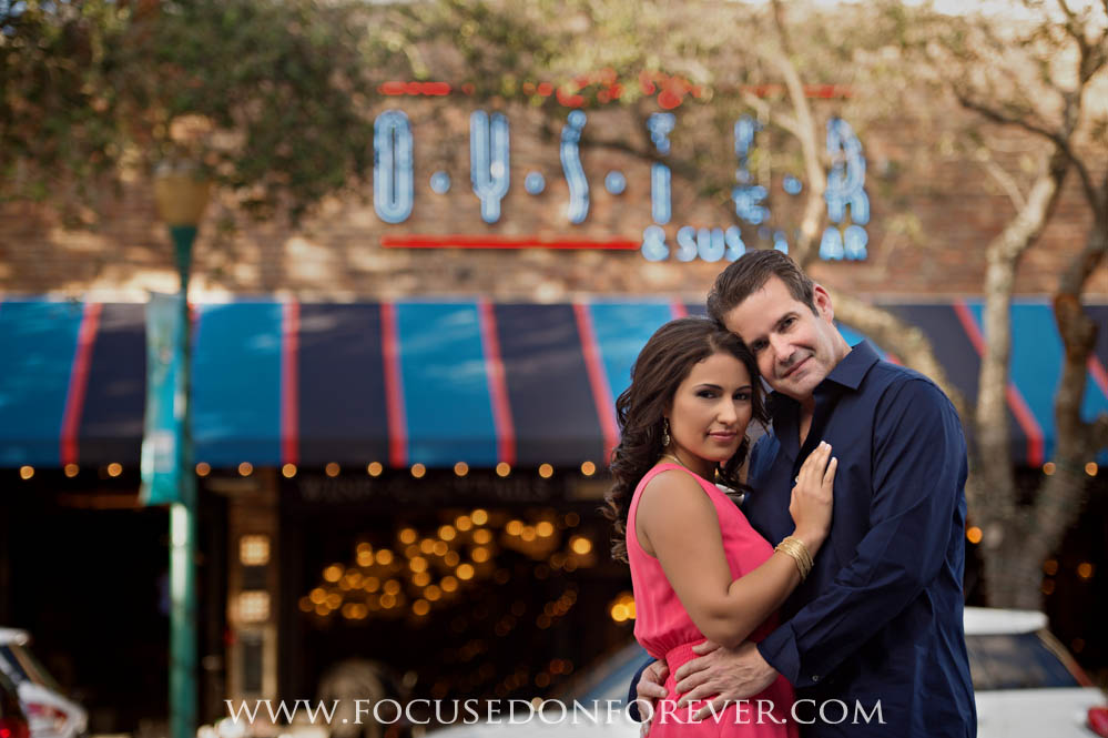 Engagement~ Veronica and Carlos downtown Delray Beach, FL