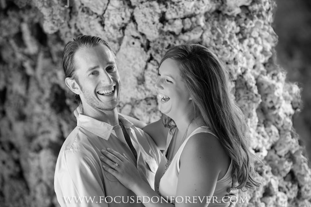 Engagement: Lori and Brandon at Vizcaya