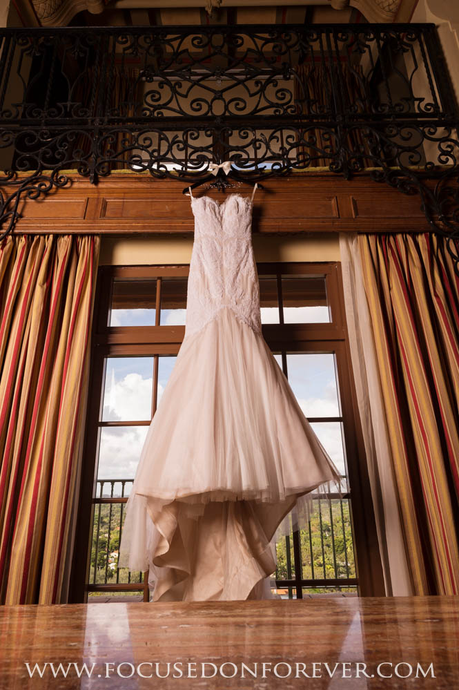 Wedding: David and Jennifer married at the Biltmore in Coral Gables, FL