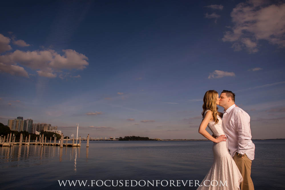Engagement: Jennifer and David at Vizcaya