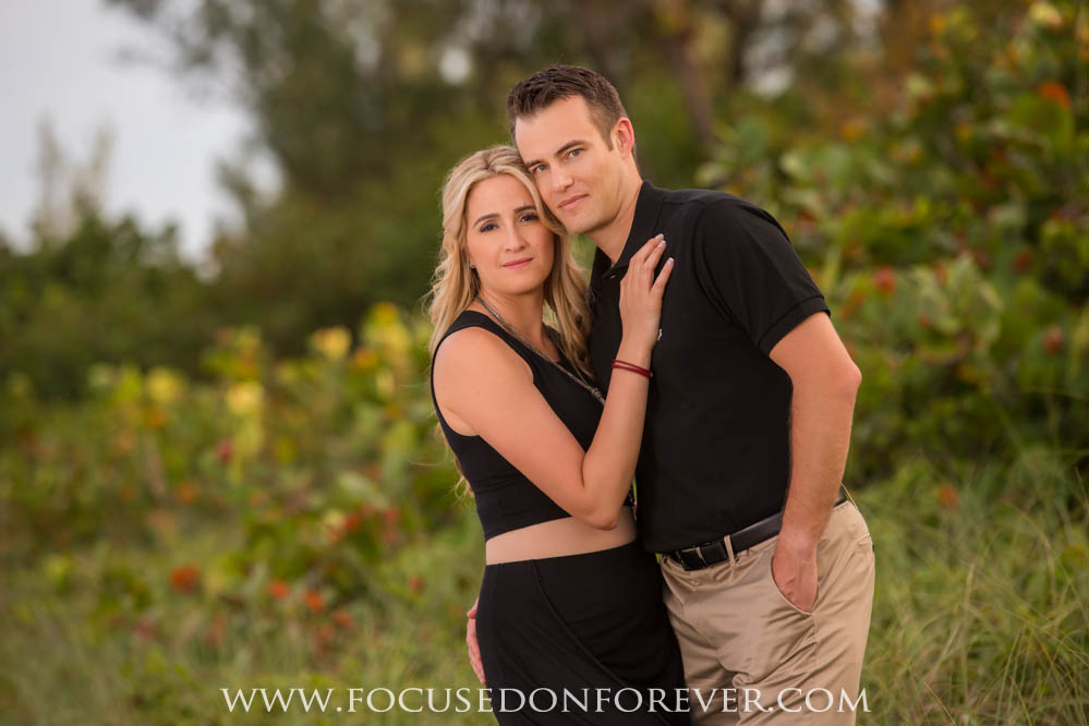 Engagement: Tara and Ryan in Jupiter Florida