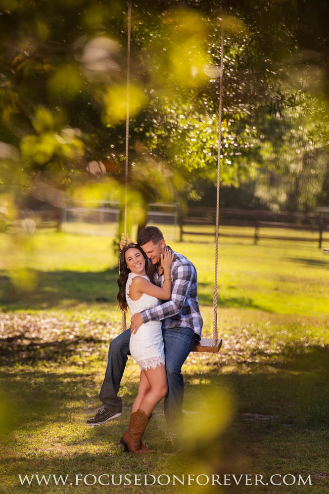 Engagement: Nicole and Kyle at River Ranch