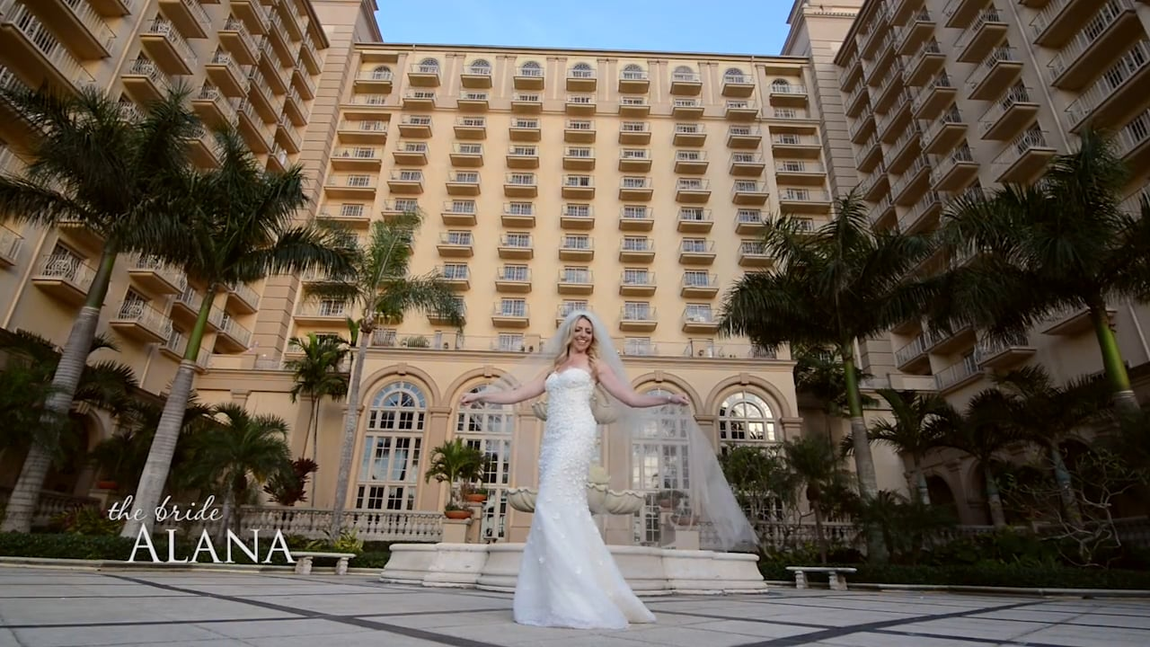 Andrew & Alana married at the Ritz-Carlton