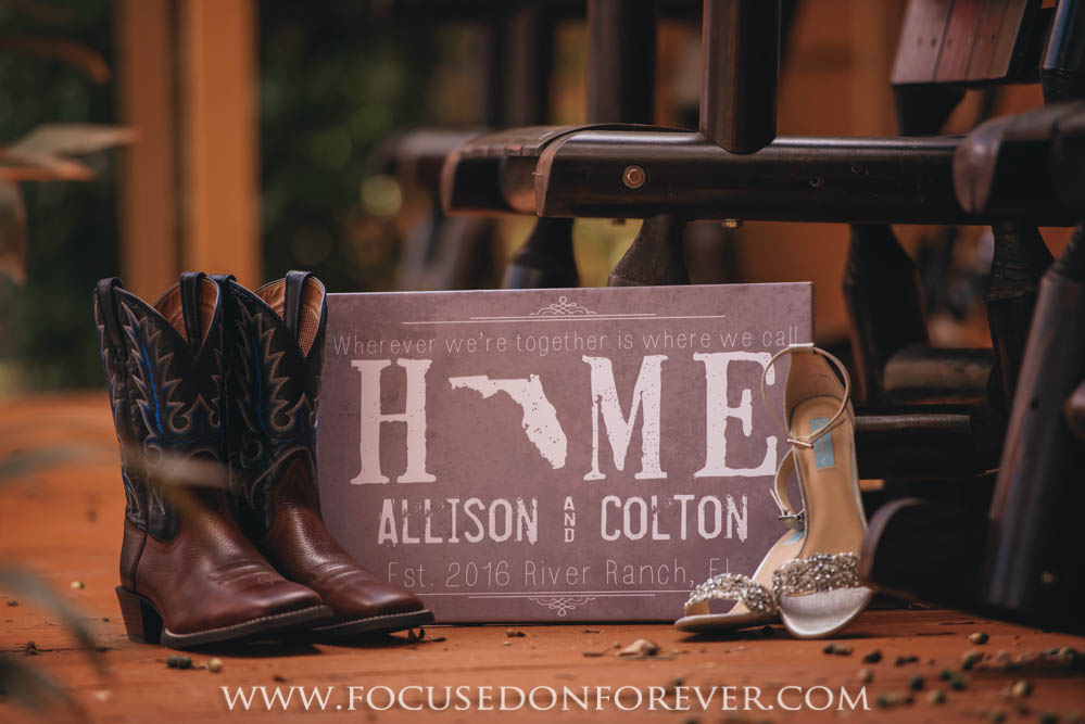 Wedding: Colton and Allison married at Westgate River Ranch