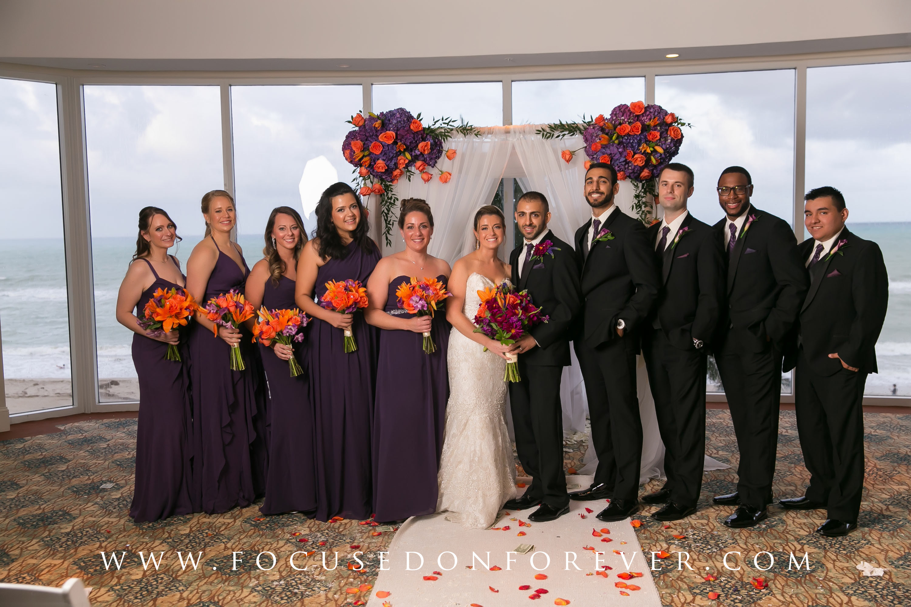 Kara and Ehsan Married at the DoubleTree Miami Beach
