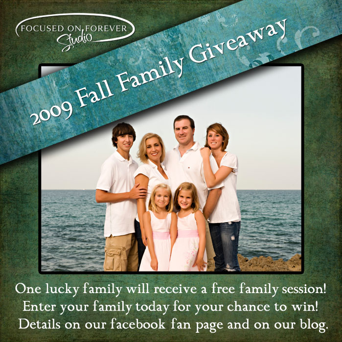 Free Family Session Giveaway!