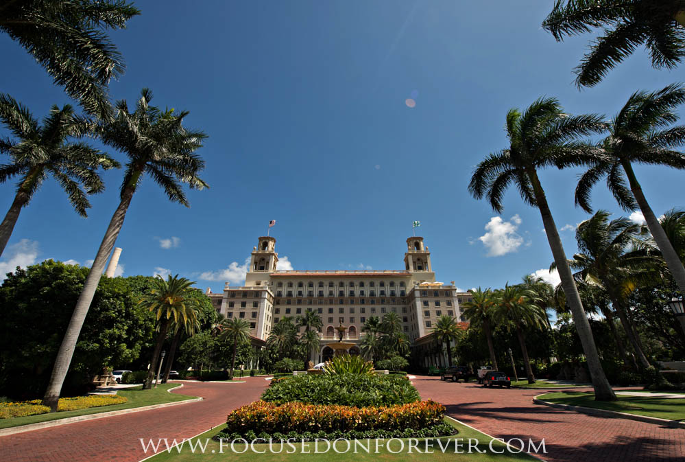 Wedding: Cale and Nicole married at The Breakers Hotel in Palm Beach Florida