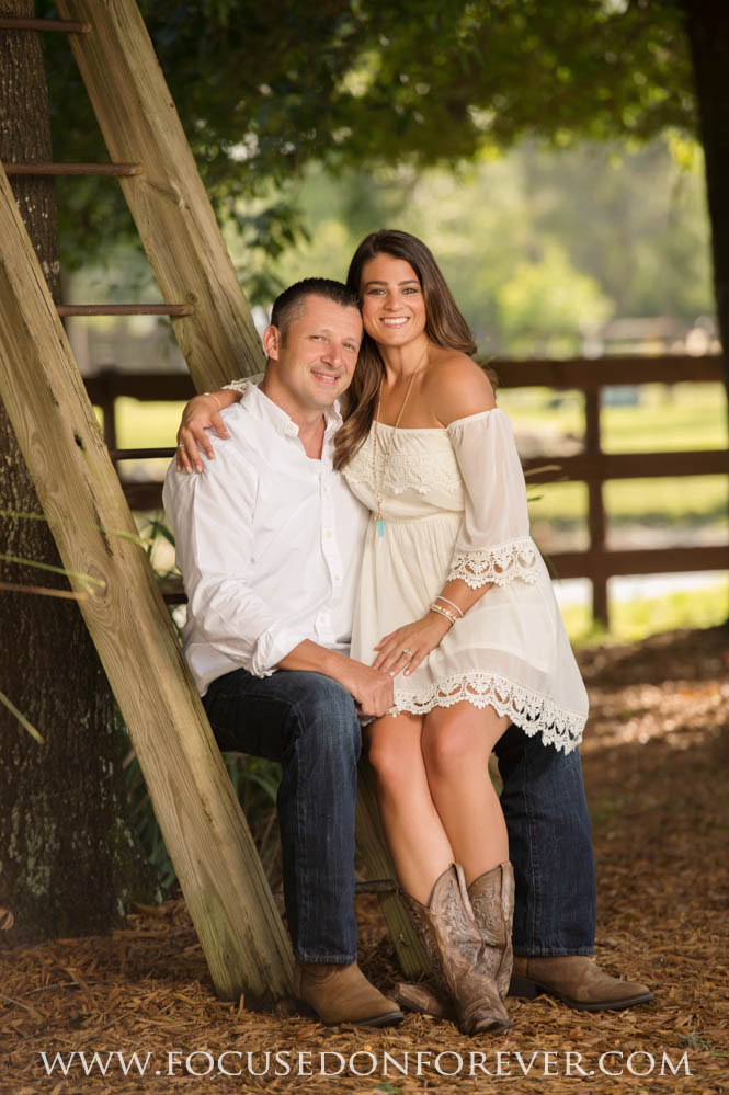 Engagement: Allie and Jett at River Ranch