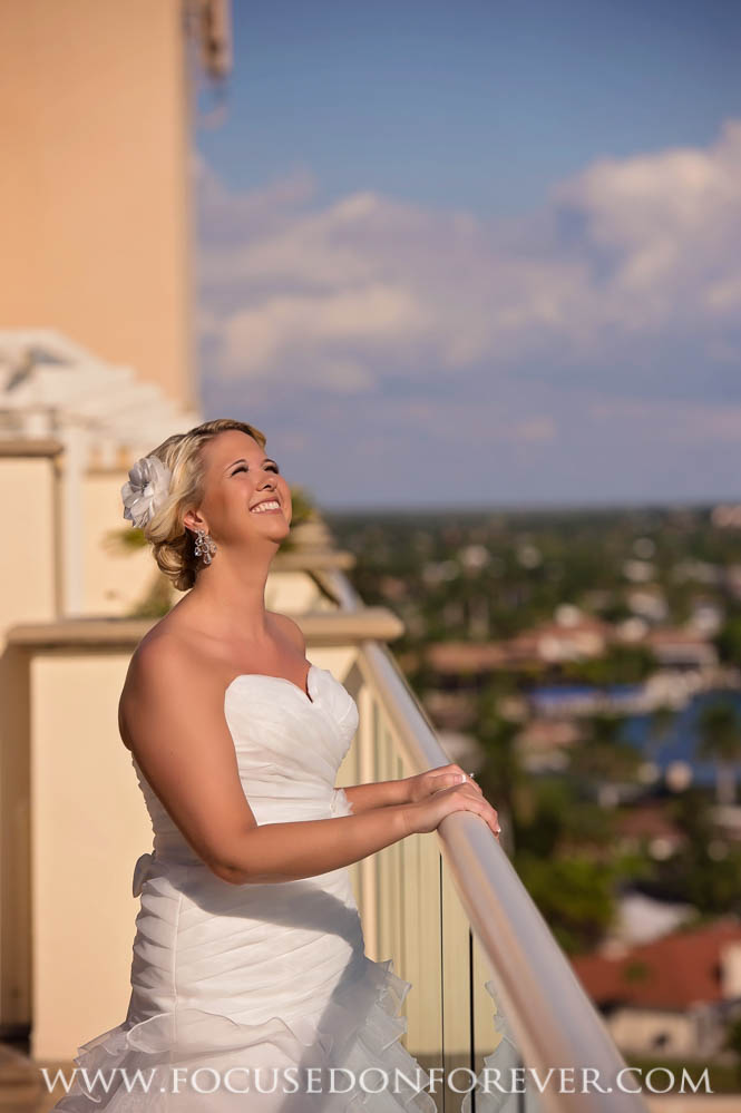 Wedding: James and Jenna married at Marco Island Marriott