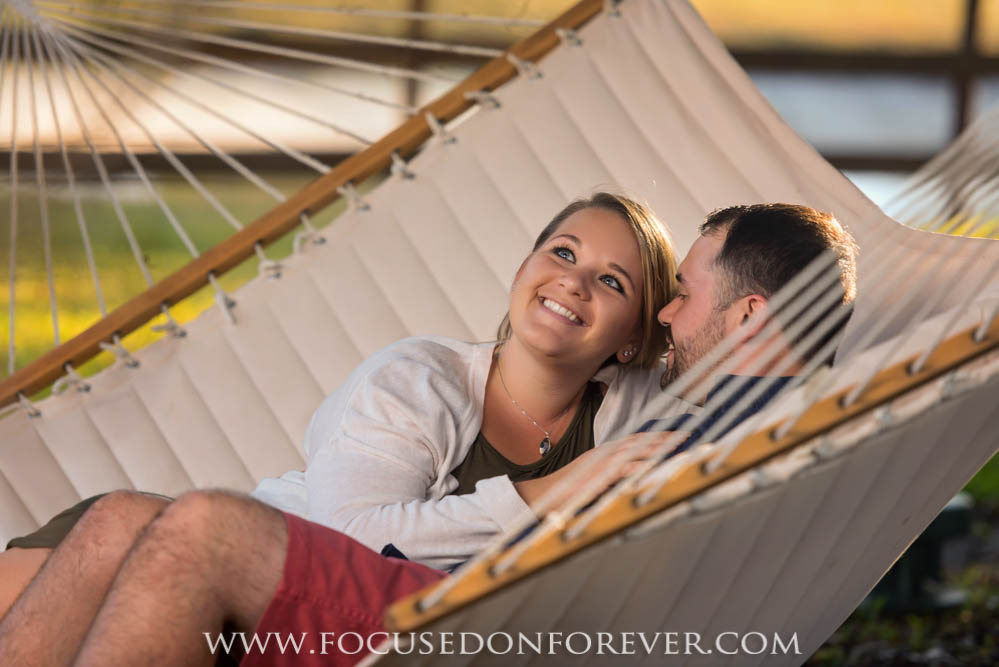 Engagement: Megan and Tim at River Ranch, Palm City FL